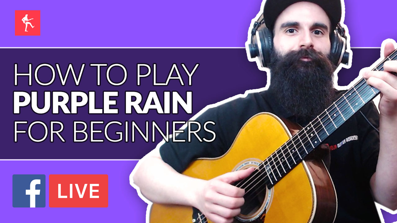 How To Play Purple Rain For Beginners