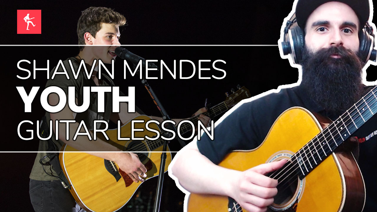 Youth Guitar Lesson - How To Play Youth by Shawn Mendes