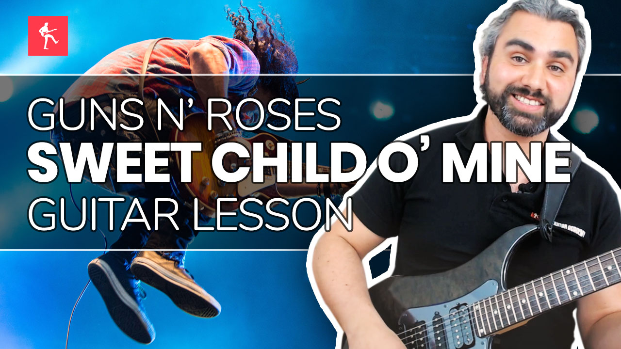 sweet child o 39 mine guitar lesson how to play sweet child o 39 mine by guns n 39 roses. Black Bedroom Furniture Sets. Home Design Ideas